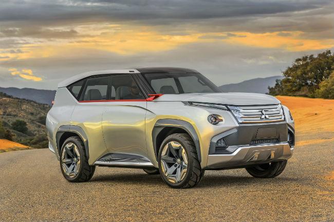 Mitsubishi GC-PHEV Concept, panorámica