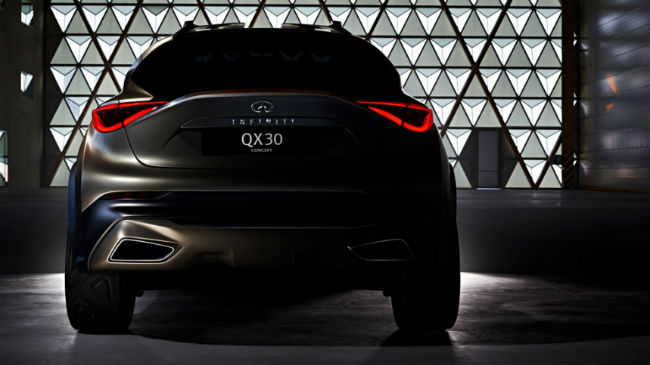 Nissan Infiniti QX30 Concept, imagen teaser