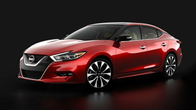 Nissan Maxima 2016 primeras imágenes