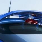 Opel Corsa OPC azul ópalo, spoiler