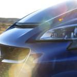 Opel Corsa OPC azul ópalo, frontal modificado