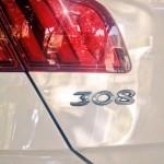 Nuevo Peugeot 308 luz trasera