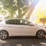Nuevo Peugeot 308 color blanco de lado