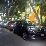 Nuevo Peugeot 308 color negro en presentación oficial en México