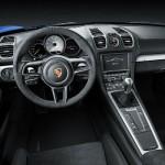 Porche Cayman GT4 interior