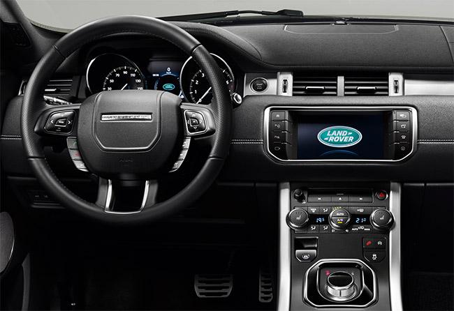 Range Rover Evoque 2016 tablero con pantalla