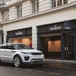 Range Rover Evoque 2016 estacionada