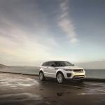 Range Rover Evoque 2016 a lado del mar