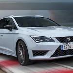 SEAT presenta el nuevo León ST CUPRA para Europa