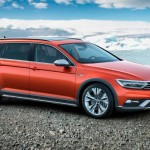 Volkswagen Passat Alltrack delantero-montaña