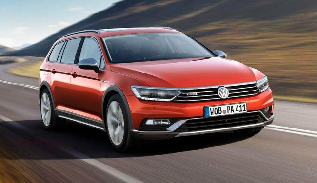 Volkswagen Passat Alltrack frente