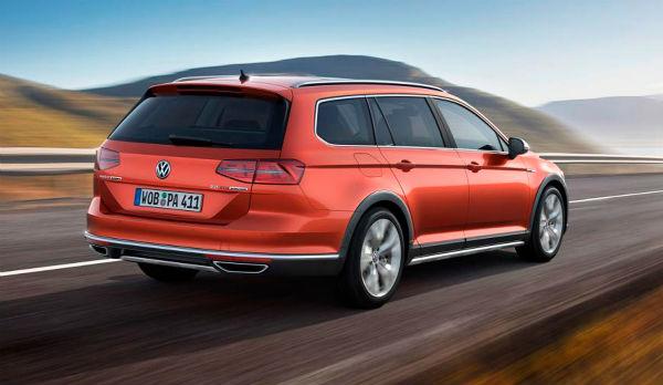 Volkswagen Passat Alltrack trasero
