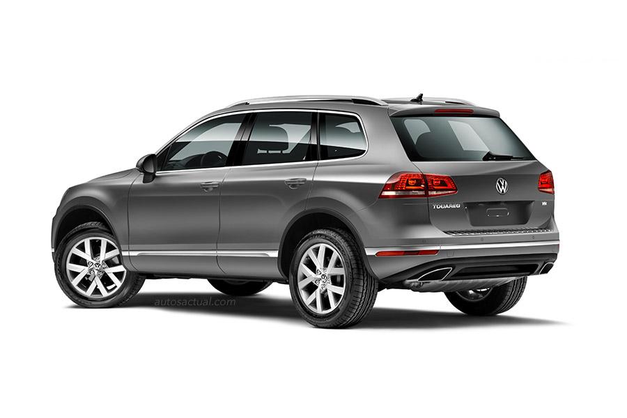 Volkswagen Touareg 2015 en México, trasero