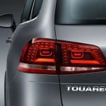 Volkswagen Touareg 2015 en México, faros traseros