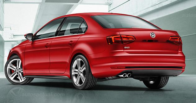 VW nuevo Jetta GLI 2015 México parte lateral
