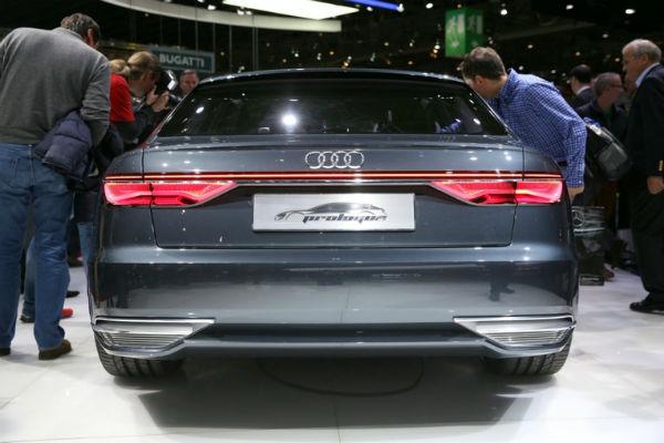 Audi Prologue concept en vivo desde Ginebra, vista trasera