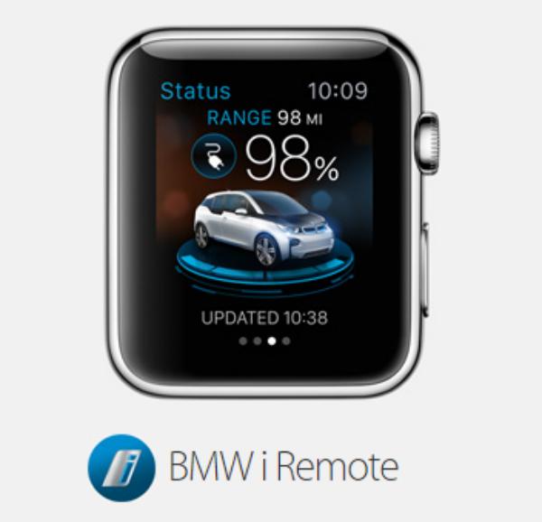 BMWi Remote de Apple Watch