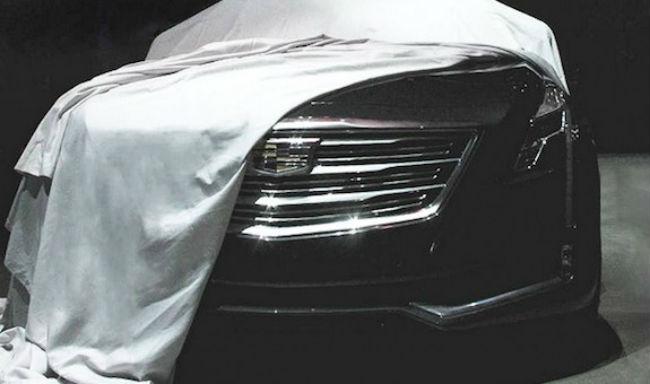 Cadillac CT6 primera teaser