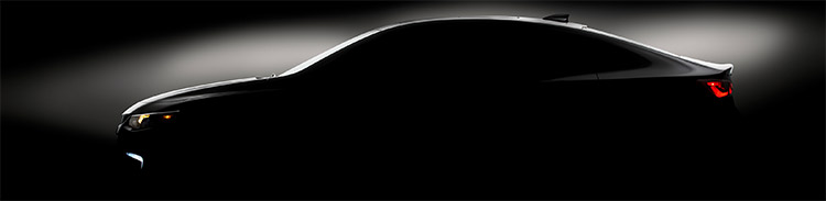 Chevrolet Malibu 2016 teaser
