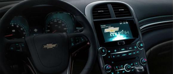 Chevrolet MyLink conectividad.