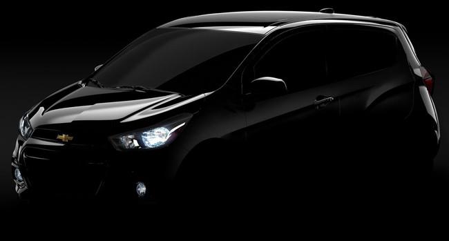 Chevrolet Spark 2016 primera teaser