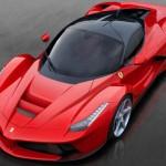 Ferrari LaFerrari vista superior