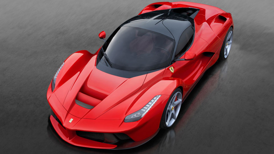Ferrari LaFerrari vista superior