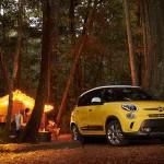 Fiat 500L 2015 en campo