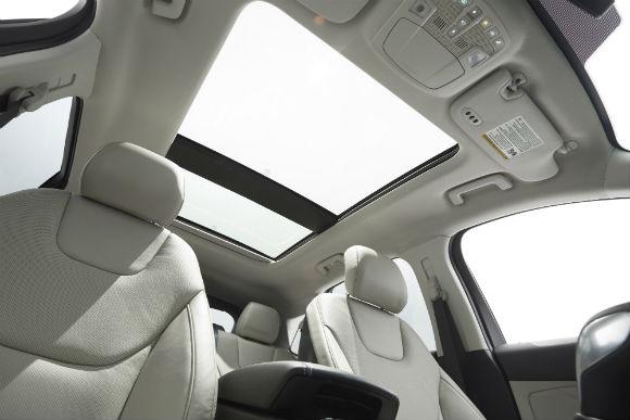 Ford Edge 2015 interior