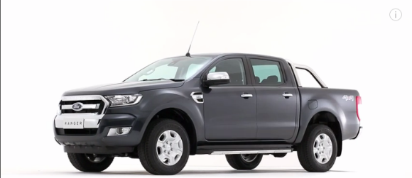 Ford Ranger 2016 video oficial, exterior