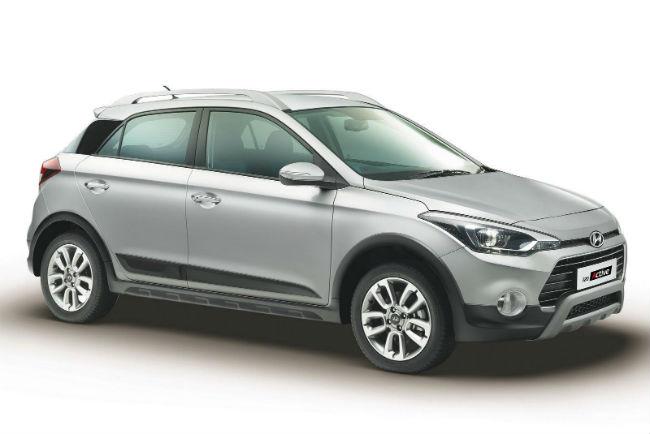 Hyundai i20- Active, frente