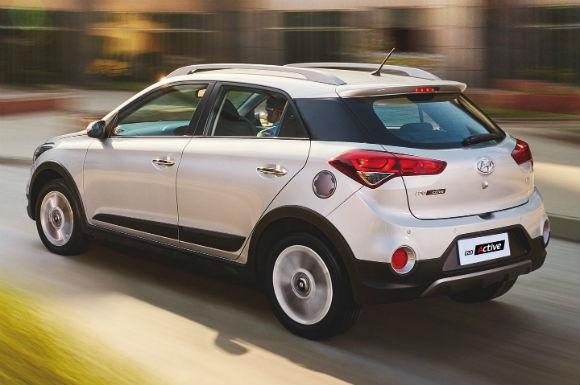Hyundai i20- Active, trasero