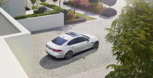 Jaguar XF 2016 vista superior