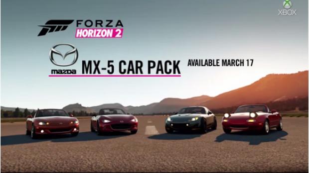 Mazda MX-5 Car Pack pata Xbox