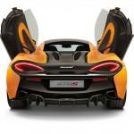 McLaren 570S parte trasera