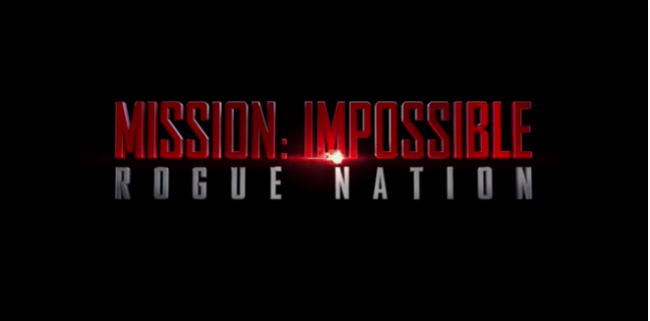 Mission Imposible Rogue Nation