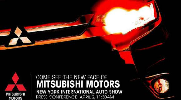 Mitsubishi Outlander 2016 restyling teaser