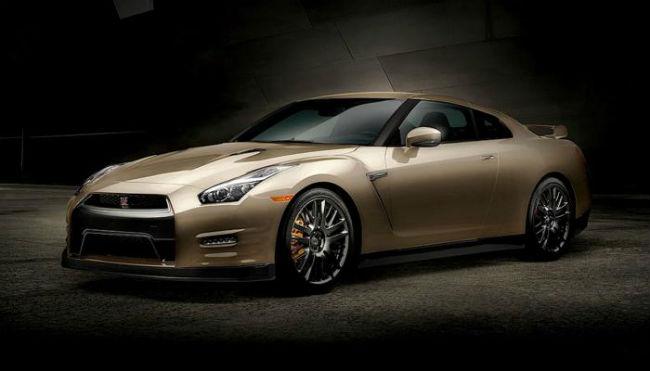 Nissan GT-R Gold Edition, 45 aniversario.