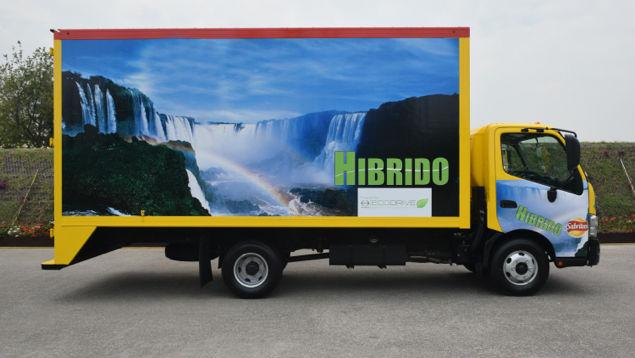 Pepsi nueva flotilla de 100 vehiculos-hibridos