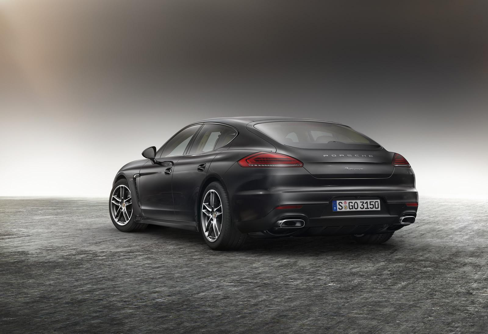Porsche Panamera Edition parte trasera