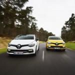 Renault Clio RS 220 Trophy en carretera