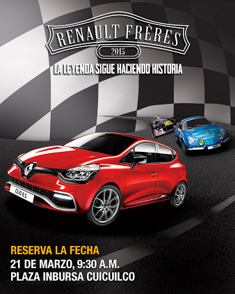 Renault Frères 2015 México