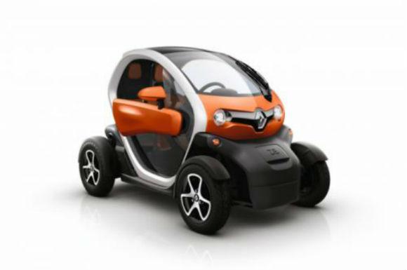 Renault Twizy 45 para jóvenes de 14 años europeos, cerrado