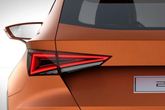 SEAT concepto SUV, segunda imagen-teaser.