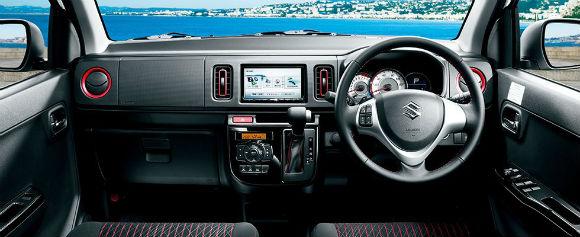 Suzuki Alto Turbo RS 2015, interior