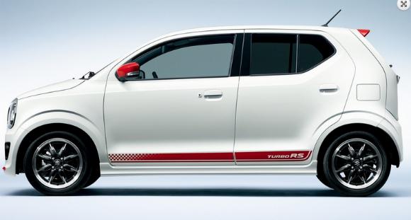 Suzuki Alto Turbo RS 2015, lateral