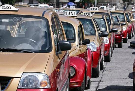 Taxis en el D.F.