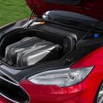 Telsa Model S cajuela