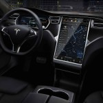 Telsa Model S interior