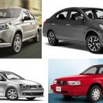 Los autos más vendidos en México en marzo 2015